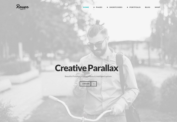 ZK Raven – A Bold & Creative Minimal Wordpress Theme